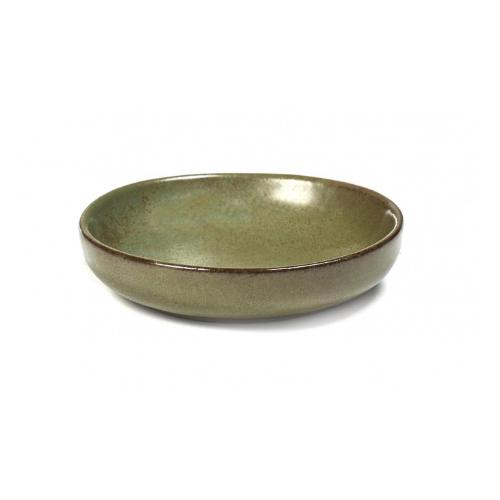 olijfbordje schaaltje 9cm camo green surface by sergio herman serax