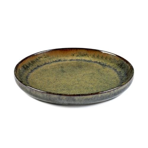 olijfbordje schaaltje 16cm indy grey surface by sergio herman serax