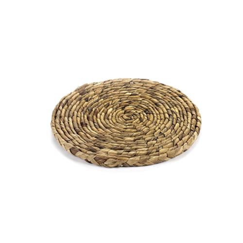 onderzetter coaster s 20 cm naturel hyacint surface by sergio herman serax
