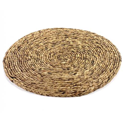 onderzetter coaster xl 40 cm naturel hyacint surface by sergio herman serax