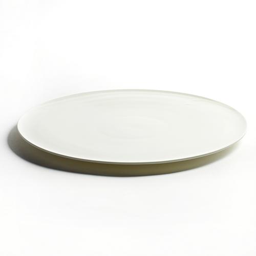 bord rond 27cm wit lens serax