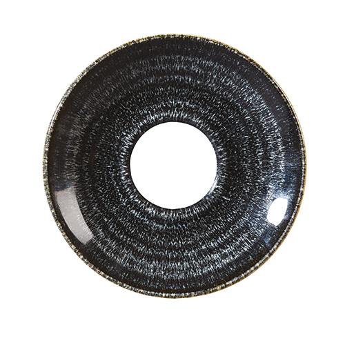koffieschotel 15 6cm churchill studio prints homespun charcoal black SPCBCSS1