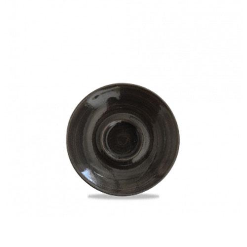 monochrome churchill espressoschotel zwart
