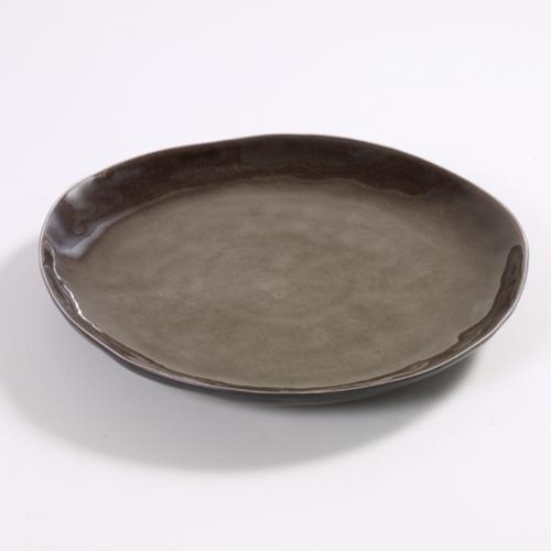 bord rond 28cm pure pascale naessens serax servies grijs