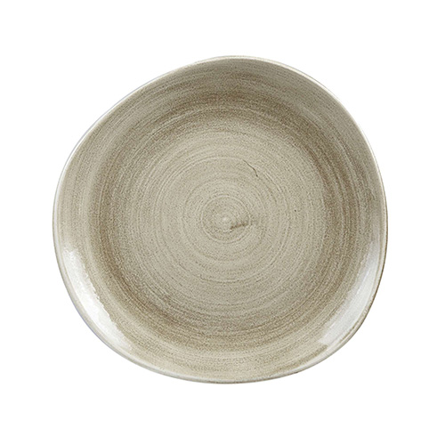 bord organic xl 28 6cm churchill stonecast patina antique taupe