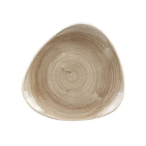 bord driehoekig l 22 9cm churchill stonecast patina antique taupe