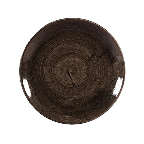coupe bord 26cm churchill stonecast patina iron black