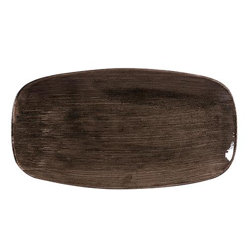 bord chef rechthoekig xl 35 5x18 9cm churchill stonecast patina iron black
