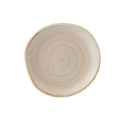 bord organic 18 6cm churchill stonecast nutmeg cream SNMSOG71