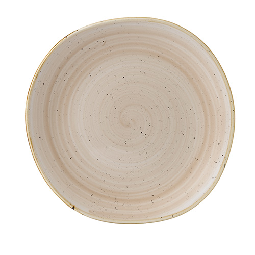 bord organic 26 4cm churchill stonecast nutmeg cream SNMSOG101