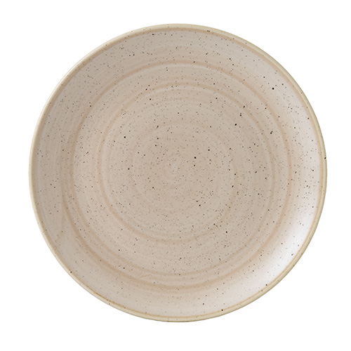coupebord 26cm churchill stonecast nutmeg cream SNMSEV101