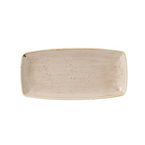 bord rechthoekig 29 5x15cm churchill stonecast nutmeg cream SNMSOP111