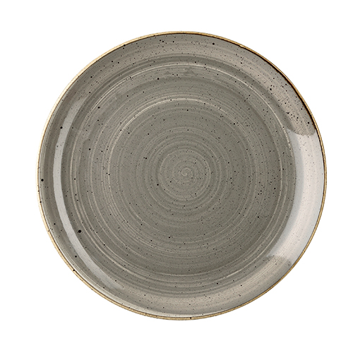 coupebord 26cm churchill stonecast peppercorn grey SPGSEV101