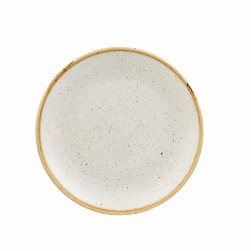 coupebord 16 5cm churchill stonecast barley white SWHSEVP61