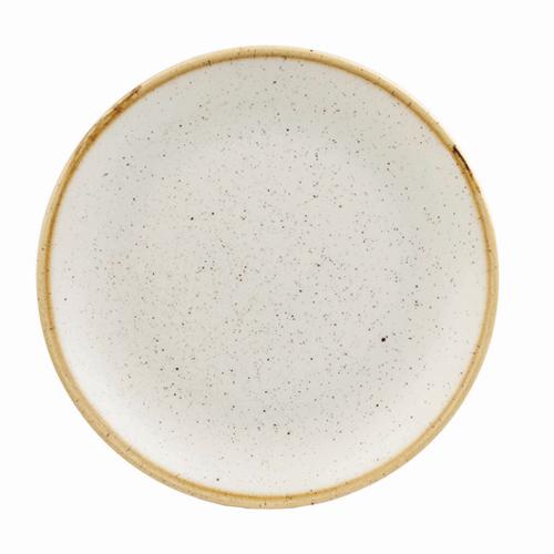 coupebord 26cm churchill stonecast barley white SWHSEV101