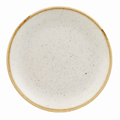 coupebord 28 8cm churchill stonecast barley white SWHSEV111