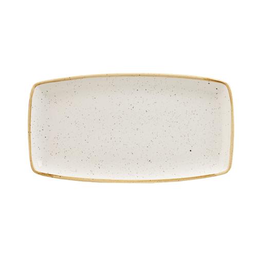 bord rechthoekig 29 5x15cm churchill stonecast barley white SWHSOP111