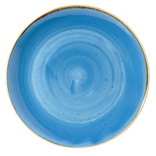 coupe schaal 31cm churchill stonecast cornflower blue SCFSPLC21