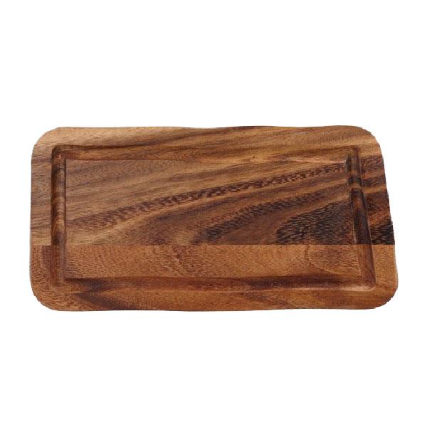 Plank rechthoekig gleuf gerechten presentatie CB2002 38.2034