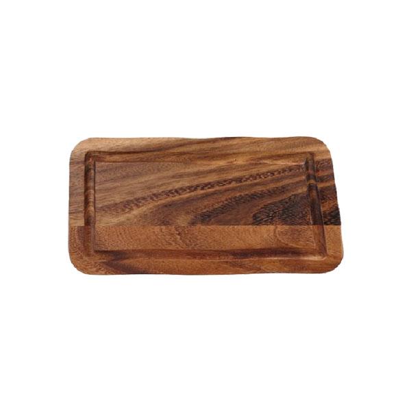 Plank rechthoekig gleuf gerechten presentatie CB2000 38.2032