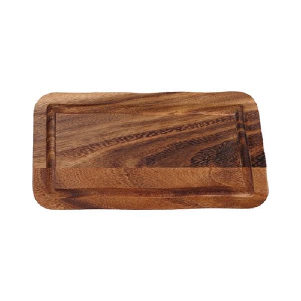 Plank rechthoekig gleuf gerechten presentatie CB2009 38.2033