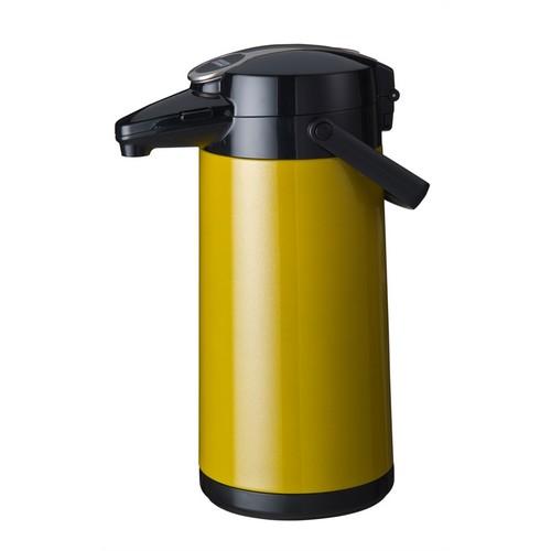 Airpot Furento Bravilor glazen binnenpot geel metallic 62.1234