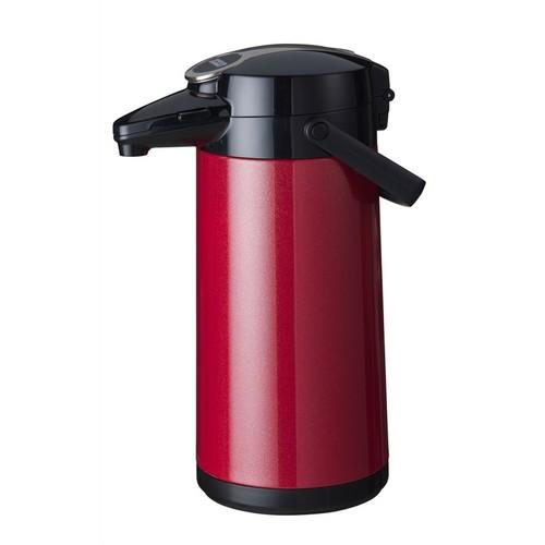 Airpot Furento Bravilor glazen binnenpot rood metallic 62.1236