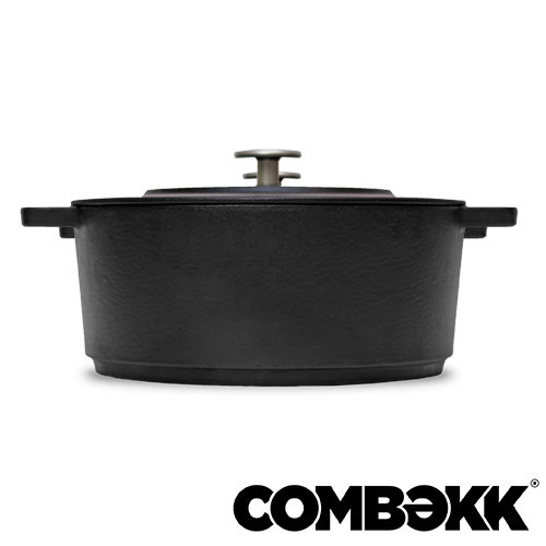Combekk Dutch Oven Dark Grey braadpan 28cm antracietgrijs 100228DG