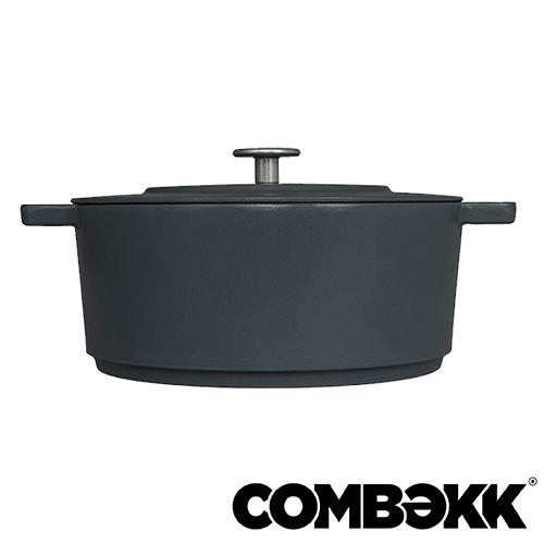 Combekk Dutch Oven Concrete braadpan 28cm betongrijs 100228CC