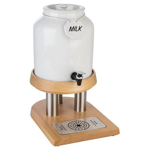 Melk dispenser top fresh porselein 8 liter