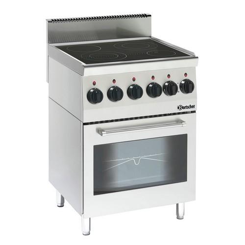 Keramisch kooktoestel 600 B600 4 pits 5 ZO EO Bartscher