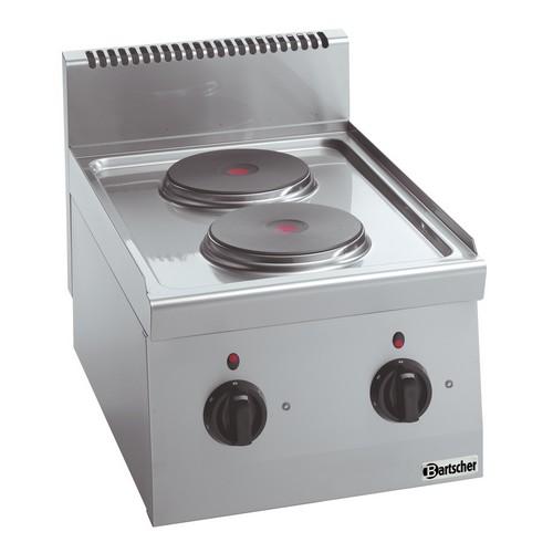 Kooktoestel 600 2 pits 2PLTG Bartscher