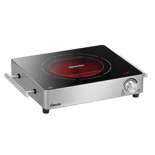 Elektrische kookplaat 1K2200 GL Bartscher