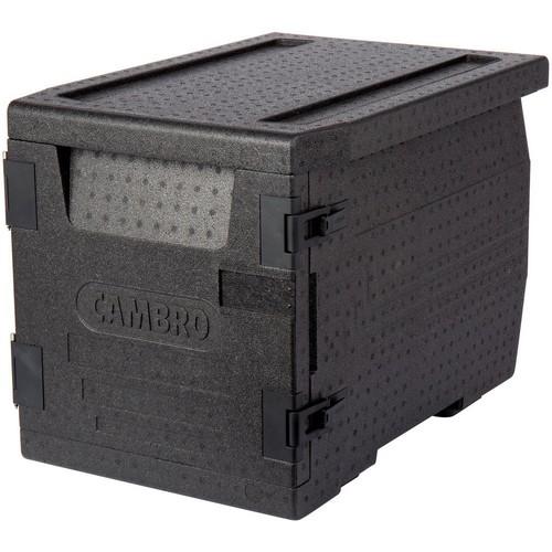 Cam GoBox EPP300 110 zwart Food Transporter Front Loader Cambro