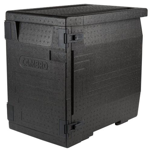 Cam GoBox EPP400 110 zwart Food Transporter Front Loader Cambro