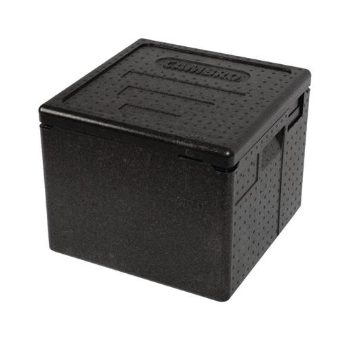 Cam GoBox EPPZ35265 110 zwart bovenlader pizzabox Cambro