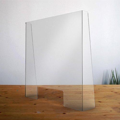 Kuchscherm plexiglas 800x800mm