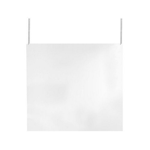 Kuchscherm plexiglas hangend 800x800