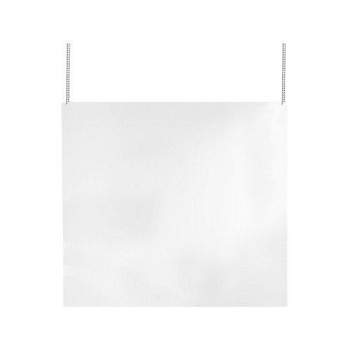 Kuchscherm plexiglas hangend 1000x1000