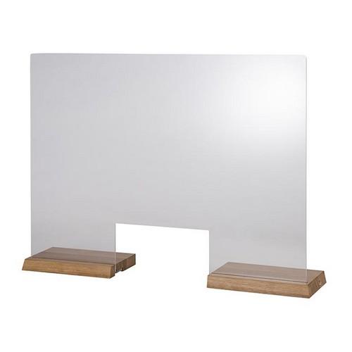 hoestscherm acryl oak 75x57CM