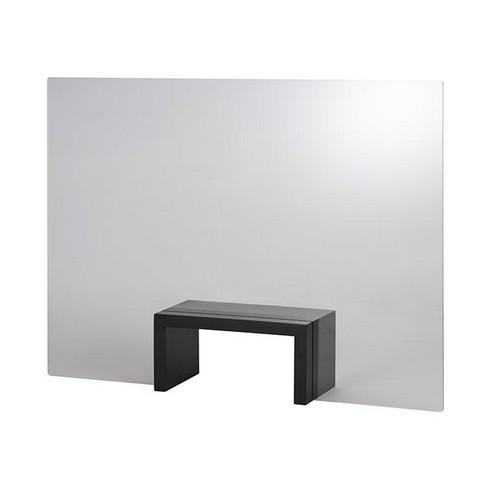 hoestscherm acryl wenge brug 75x57CM