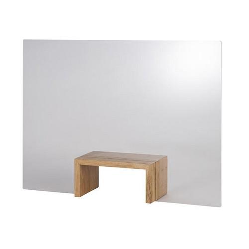 hoestscherm acryl oak brug 75x57CM