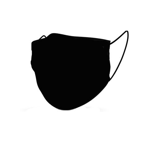 Mondmasker comfort zwart