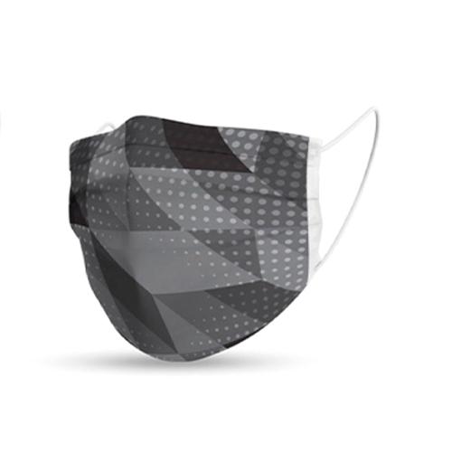 Mondmasker trendy grijs grijs