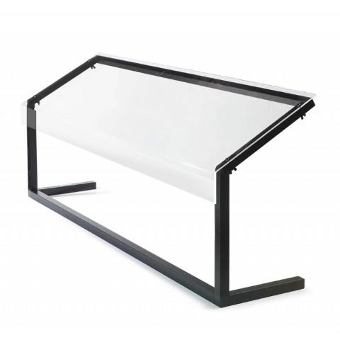 Ademschot 3 1 GN 3mm plexiglas