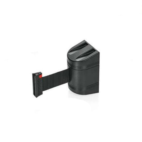 Afzetband voor wandmontage 200cm zwart