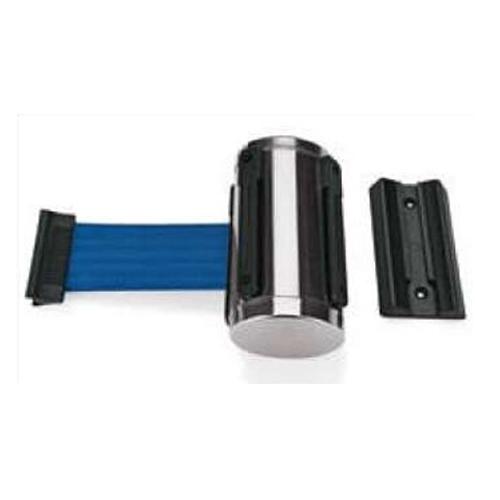 Afzetkoord voor wandmontage blauw