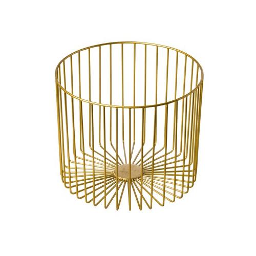 Presentatiemand afm 28x23x28 staal goud