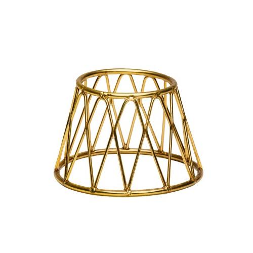 Buffetverhoger kroon afm 15x10x10 goud