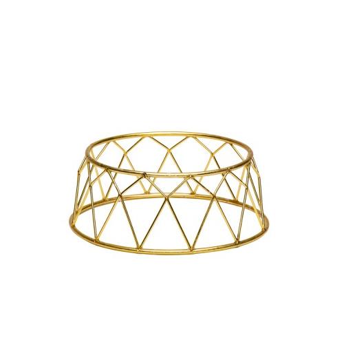 Buffetverhoger kroon afm 25x12x10 goud